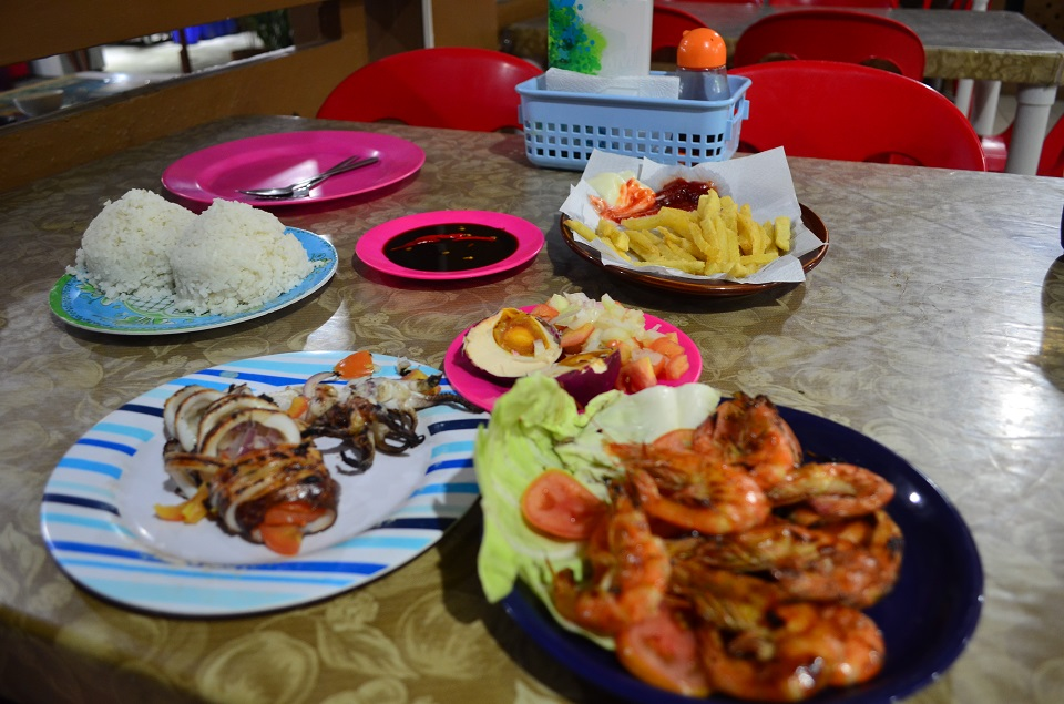 foods on puerto galera