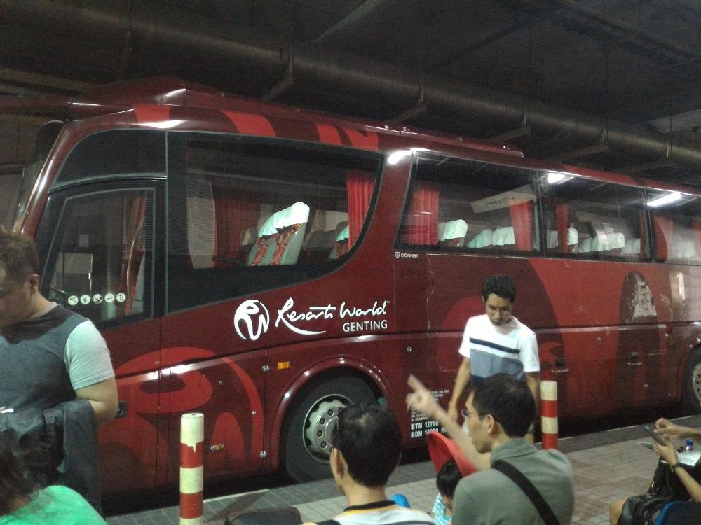 resorts world genting express bus